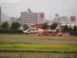 熱血男子さんが、札幌飛行場で撮影した北海道防災航空隊 AS365N3 Dauphin 2の航空フォト(飛行機 写真・画像)