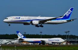 774gonさんが、成田国際空港で撮影した全日空 787-9の航空フォト(飛行機 写真・画像)