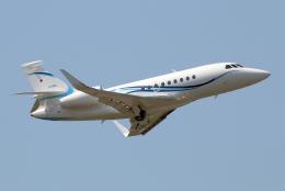なごやんさんが、名古屋飛行場で撮影したフジビジネスジェット Falcon 2000EXの航空フォト(飛行機 写真・画像)