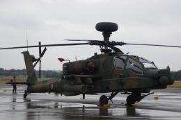 木人さんが、立川飛行場で撮影した陸上自衛隊 AH-64Dの航空フォト(飛行機 写真・画像)