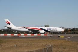 ガペ兄さんが、シドニー国際空港で撮影したマレーシア航空 A330-323Xの航空フォト(飛行機 写真・画像)