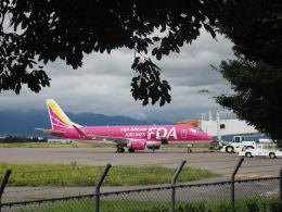 monjiro22001さんが、松本空港で撮影したフジドリームエアラインズ ERJ-170-200 (ERJ-175STD)の航空フォト(飛行機 写真・画像)