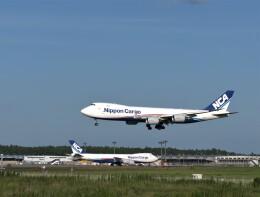 774gonさんが、成田国際空港で撮影した日本貨物航空 747-8KZF/SCDの航空フォト(飛行機 写真・画像)