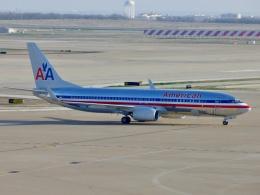 TA27さんが、ダラス・フォートワース国際空港で撮影したアメリカン航空 737-823の航空フォト(飛行機 写真・画像)