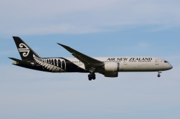 よっしぃさんが、成田国際空港で撮影したニュージーランド航空 787-9の航空フォト(飛行機 写真・画像)