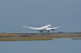 小弦さんが、サンフランシスコ国際空港で撮影した日本航空 787-9の航空フォト(飛行機 写真・画像)