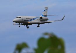 タミーさんが、静岡空港で撮影したフジビジネスジェット Falcon 2000EXの航空フォト(飛行機 写真・画像)