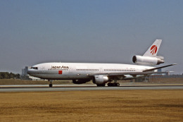 Gambardierさんが、伊丹空港で撮影した日本アジア航空 DC-10-40Iの航空フォト(飛行機 写真・画像)