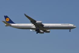 Deepさんが、成田国際空港で撮影したルフトハンザドイツ航空 A340-642の航空フォト(飛行機 写真・画像)