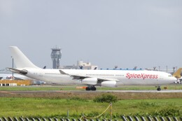 不揃いさんが、成田国際空港で撮影したスパイスジェット A340-313Xの航空フォト(飛行機 写真・画像)