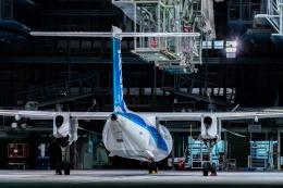 航空フォト:JA858A ANAウイングス DHC-8-400