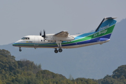 Deepさんが、福岡空港で撮影したオリエンタルエアブリッジ DHC-8-201Q Dash 8の航空フォト(飛行機 写真・画像)