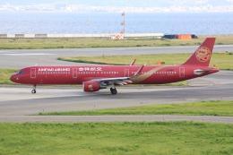 空飛ぶ丸さんさんが、関西国際空港で撮影した吉祥航空 A321-211の航空フォト(飛行機 写真・画像)