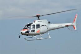 ヘリオスさんが、東京ヘリポートで撮影した中日本航空 AS350B1 Ecureuilの航空フォト(飛行機 写真・画像)