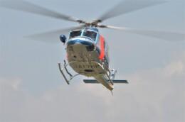 ヘリオスさんが、東京ヘリポートで撮影した警視庁 412EPの航空フォト(飛行機 写真・画像)