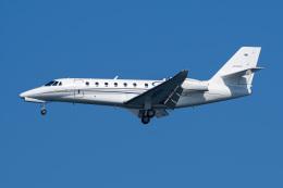 Tatsuya.Kさんが、羽田空港で撮影したノエビア 680 Citation Sovereignの航空フォト(飛行機 写真・画像)