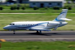 yabyanさんが、名古屋飛行場で撮影したフジビジネスジェット Falcon 2000EXの航空フォト(飛行機 写真・画像)