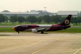 メニSさんが、ドンムアン空港で撮影したノックエア 737-4D7の航空フォト(飛行機 写真・画像)