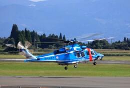 EosR2さんが、鹿児島空港で撮影した鹿児島県警察 AW139の航空フォト(飛行機 写真・画像)