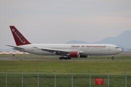 hanatomo735さんが、岩国空港で撮影したオムニエアインターナショナル 767-33A/ERの航空フォト(飛行機 写真・画像)