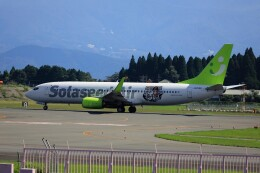 EosR2さんが、鹿児島空港で撮影したソラシド エア 737-86Nの航空フォト(飛行機 写真・画像)