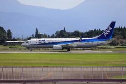 EosR2さんが、鹿児島空港で撮影した全日空 737-8ALの航空フォト(飛行機 写真・画像)