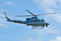 sepia2016さんが、下総航空基地で撮影した岩手県警察 412EPの航空フォト(飛行機 写真・画像)