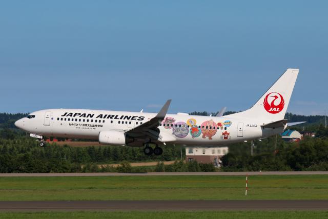 航空フォト:JA329J 日本航空