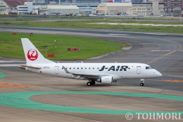 遠森一郎さんが、福岡空港で撮影したジェイエア ERJ-170-100 (ERJ-170STD)の航空フォト(飛行機 写真・画像)