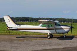 よっしぃさんが、龍ケ崎飛行場で撮影した新中央航空 172P Skyhawk IIの航空フォト(飛行機 写真・画像)