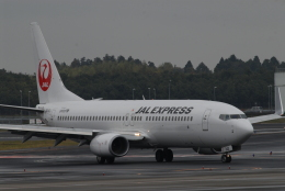 banshee02さんが、成田国際空港で撮影した日本航空 737-846の航空フォト(飛行機 写真・画像)