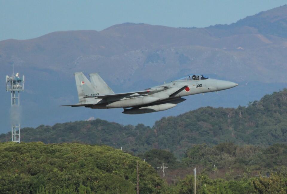 こびとさんさんの航空自衛隊 Mitsubishi F-15J Eagle (82-8902) 航空フォト