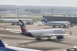 サリーちゃんのパパさんが、羽田空港で撮影したアエロフロート・ロシア航空 A350-941の航空フォト(飛行機 写真・画像)