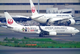 SFJ_capさんが、羽田空港で撮影した日本航空 737-846の航空フォト(飛行機 写真・画像)