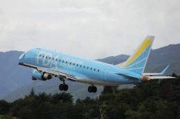 Musondaさんが、松本空港で撮影したフジドリームエアラインズ ERJ-170-100 (ERJ-170STD)の航空フォト(飛行機 写真・画像)