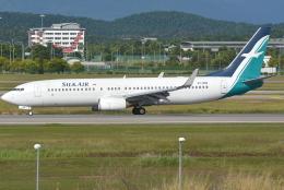 jun☆さんが、クアラルンプール国際空港で撮影したシルクエア 737-8SAの航空フォト(飛行機 写真・画像)