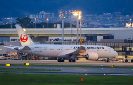 rokko2000さんが、伊丹空港で撮影した日本航空 787-8 Dreamlinerの航空フォト(飛行機 写真・画像)