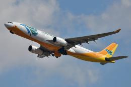 saoya_saodakeさんが、成田国際空港で撮影したセブパシフィック航空 A330-343Xの航空フォト(飛行機 写真・画像)
