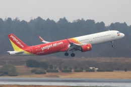 kan787allさんが、成田国際空港で撮影したベトジェットエア A321-271Nの航空フォト(飛行機 写真・画像)