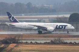 kan787allさんが、成田国際空港で撮影したLOTポーランド航空 787-8 Dreamlinerの航空フォト(飛行機 写真・画像)