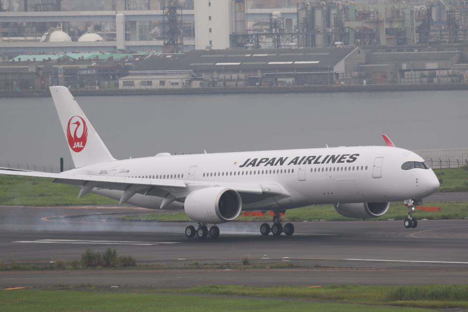やまけんさんの日本航空 Airbus A350-900 (JA11XJ) 航空フォト