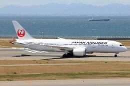 フッ軽の極美さんが、中部国際空港で撮影した日本航空 787-8 Dreamlinerの航空フォト(飛行機 写真・画像)