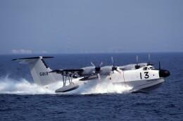 kiheiさんが、大阪湾で撮影した海上自衛隊 PS-1の航空フォト(飛行機 写真・画像)