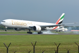 jun☆さんが、スカルノハッタ国際空港で撮影したエミレーツ航空 777-31H/ERの航空フォト(飛行機 写真・画像)