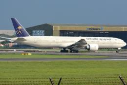 jun☆さんが、スカルノハッタ国際空港で撮影したサウディア 777-3FG/ERの航空フォト(飛行機 写真・画像)