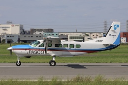 Hii82さんが、八尾空港で撮影した共立航空撮影 208B Grand Caravanの航空フォト(飛行機 写真・画像)