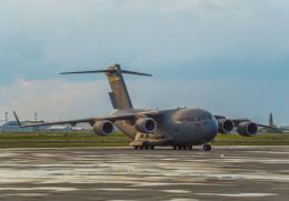Cygnus00さんが、千歳基地で撮影したアメリカ空軍 C-17A Globemaster IIIの航空フォト(飛行機 写真・画像)