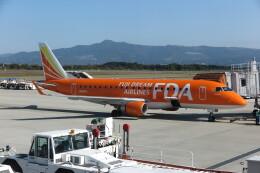 Dekatyouさんが、熊本空港で撮影したフジドリームエアラインズ ERJ-170-200 (ERJ-175STD)の航空フォト(飛行機 写真・画像)