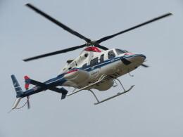 ランチパッドさんが、静岡ヘリポートで撮影した中日本航空 430の航空フォト(飛行機 写真・画像)