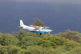 キャスバルさんが、ダニエル・K・イノウエ国際空港で撮影したKAMAKA AIR 208B Super Cargomasterの航空フォト(飛行機 写真・画像)